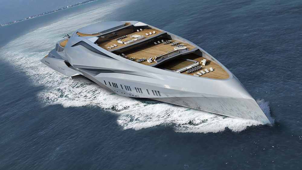 This 751-Foot Superyacht Will Soon Be the World's Largest