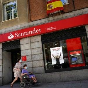 Gli effetti del Covid sui conti delle banche, perdita da 11 miliardi per il Santander