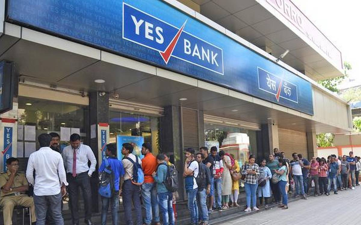 Stock market news: YES Bank shares up over 1%