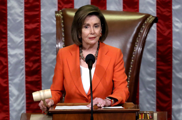 Nancy Pelosi re-elected Speaker of the House in tight race