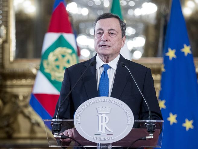 Draghi prepara il discorso per la fiducia: il nodo rimane la coesione tra i partiti