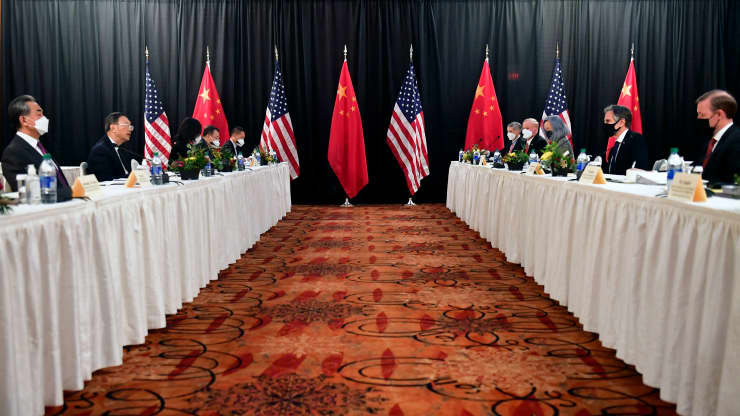 First U.S.-China meeting under Biden gets off to a rocky start