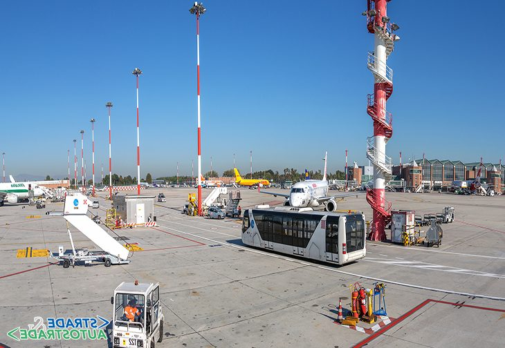 Adeguamento della pavimentazione dell'aeroporto di Venezia