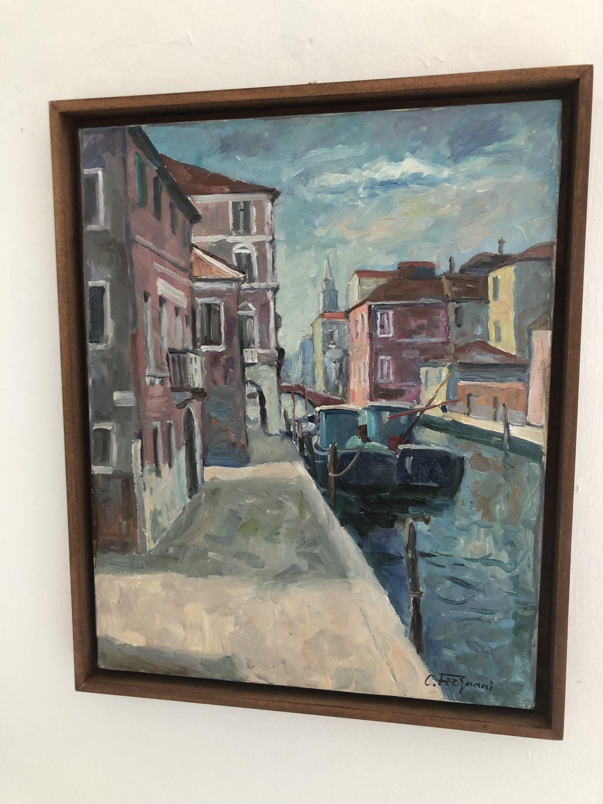 Corrado Fergnani, i dipinti della Venezia sconosciuta che aumentano il valore improvvisamente