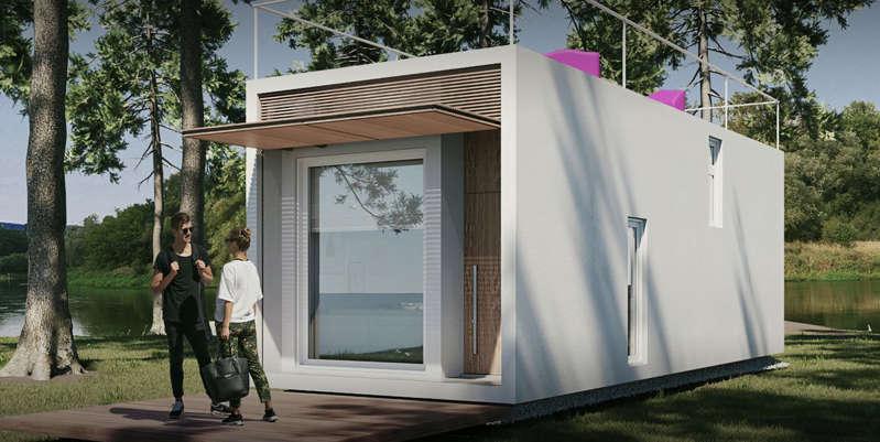 Ecco le nuove case ecosostenibili con un costo molto basso